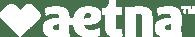 Aetna - white logo